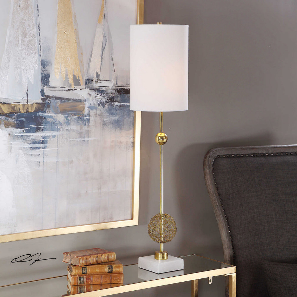 Breckyn Buffet Lamp by Uttermost
