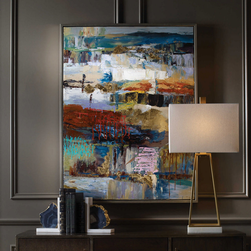 Fiesta Hand Painted Canvas by Uttermost