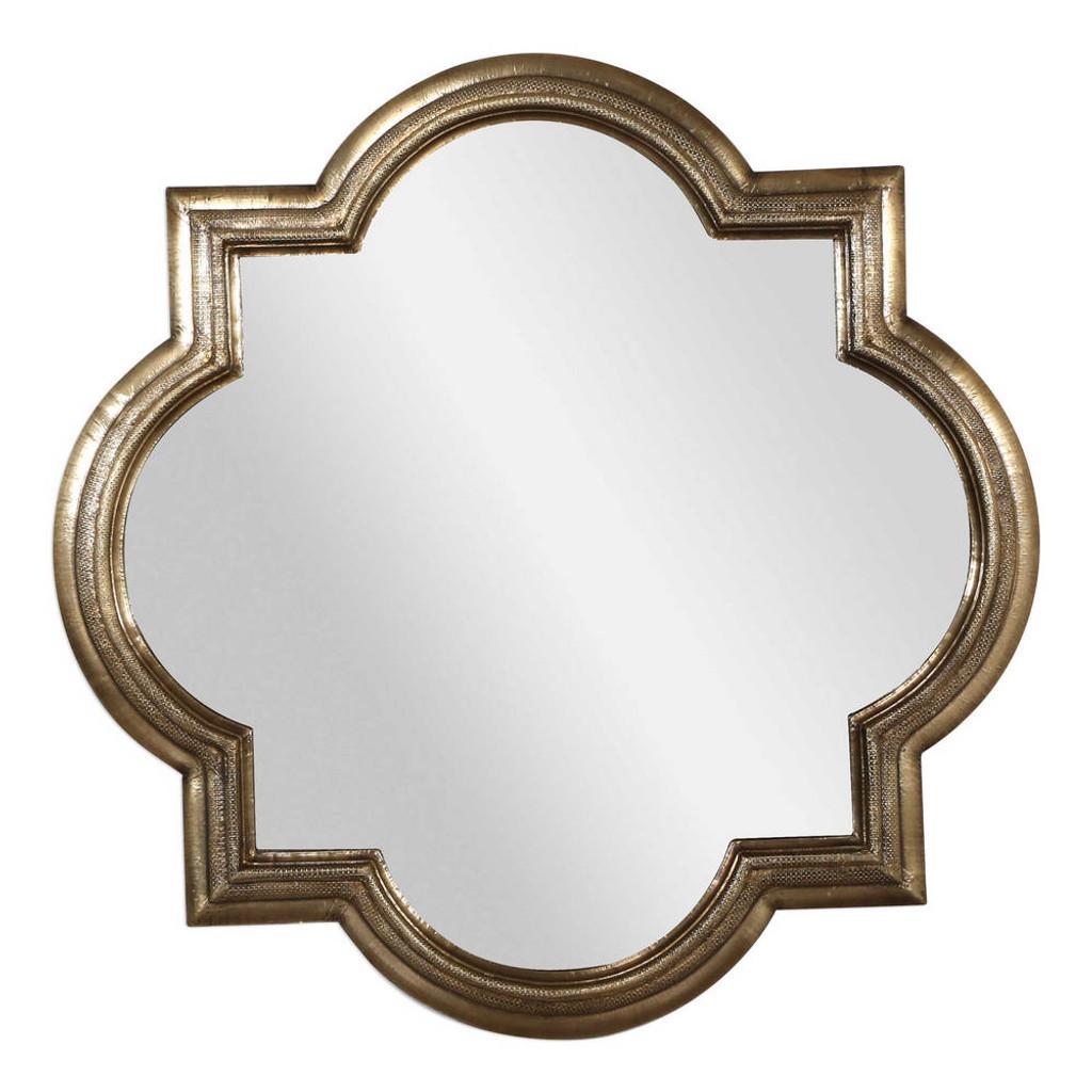 Khalid Quatrefoil Mirror by Uttermost
