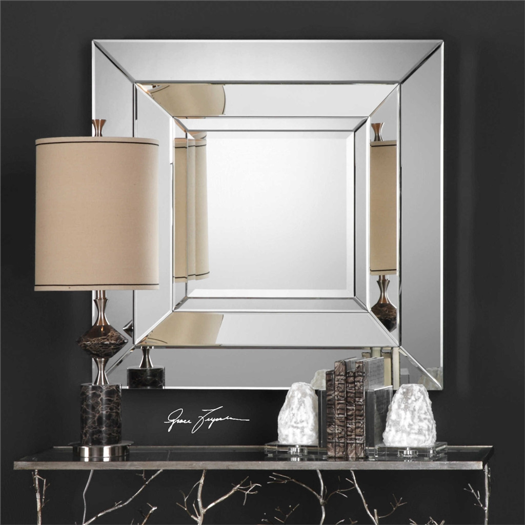Achaius Square Mirror - by Uttermost