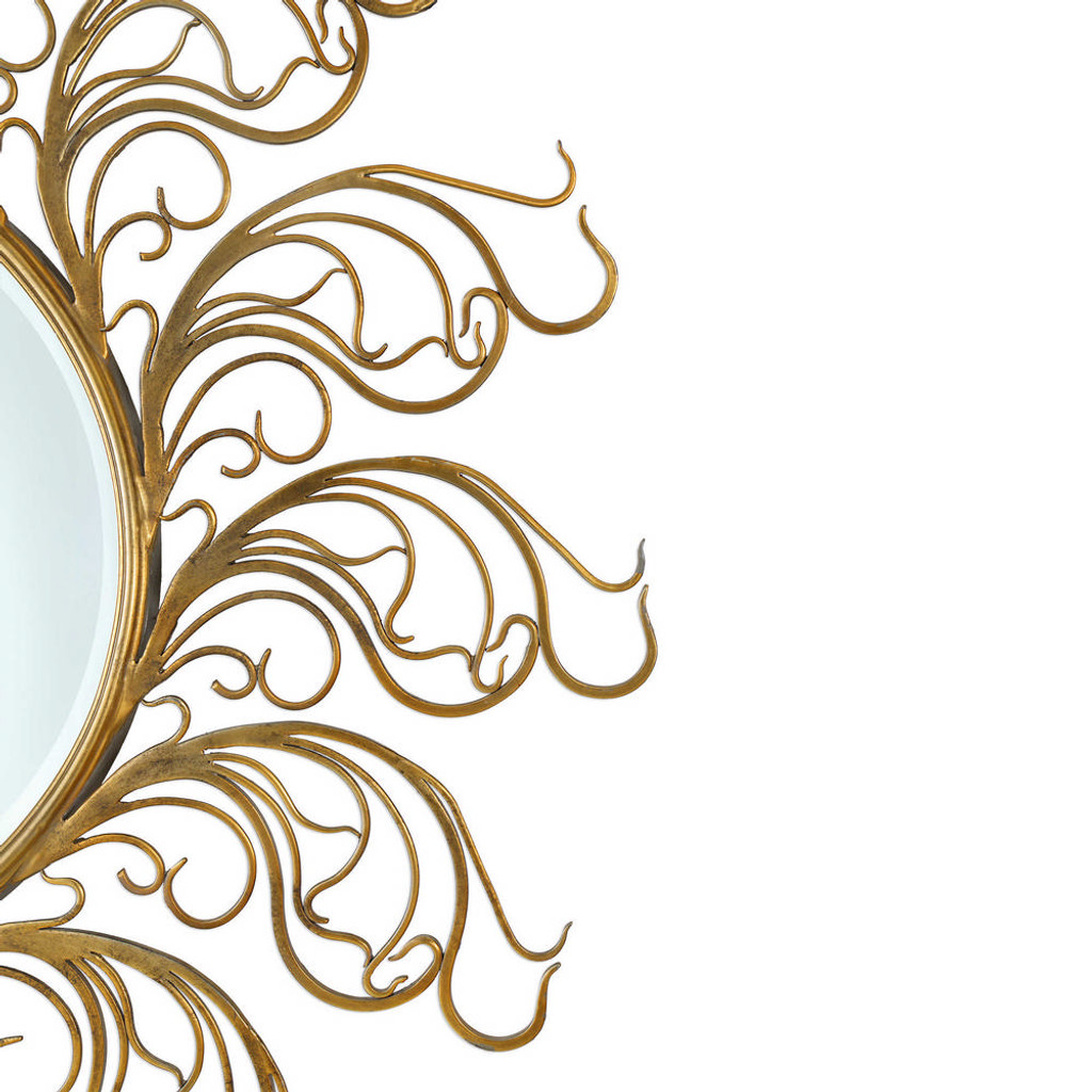 Galatina Round Mirror