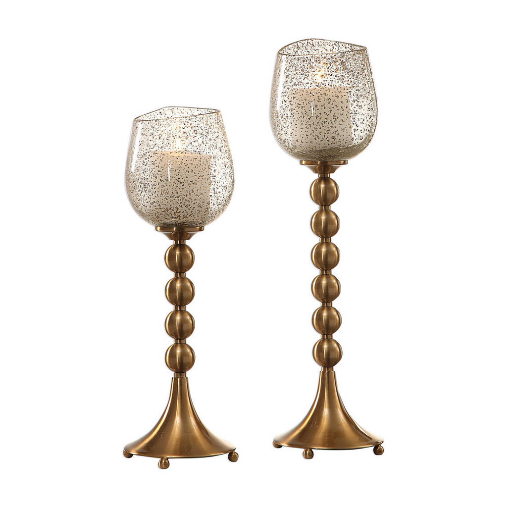 Elianna Candleholders S/2 by Uttermost