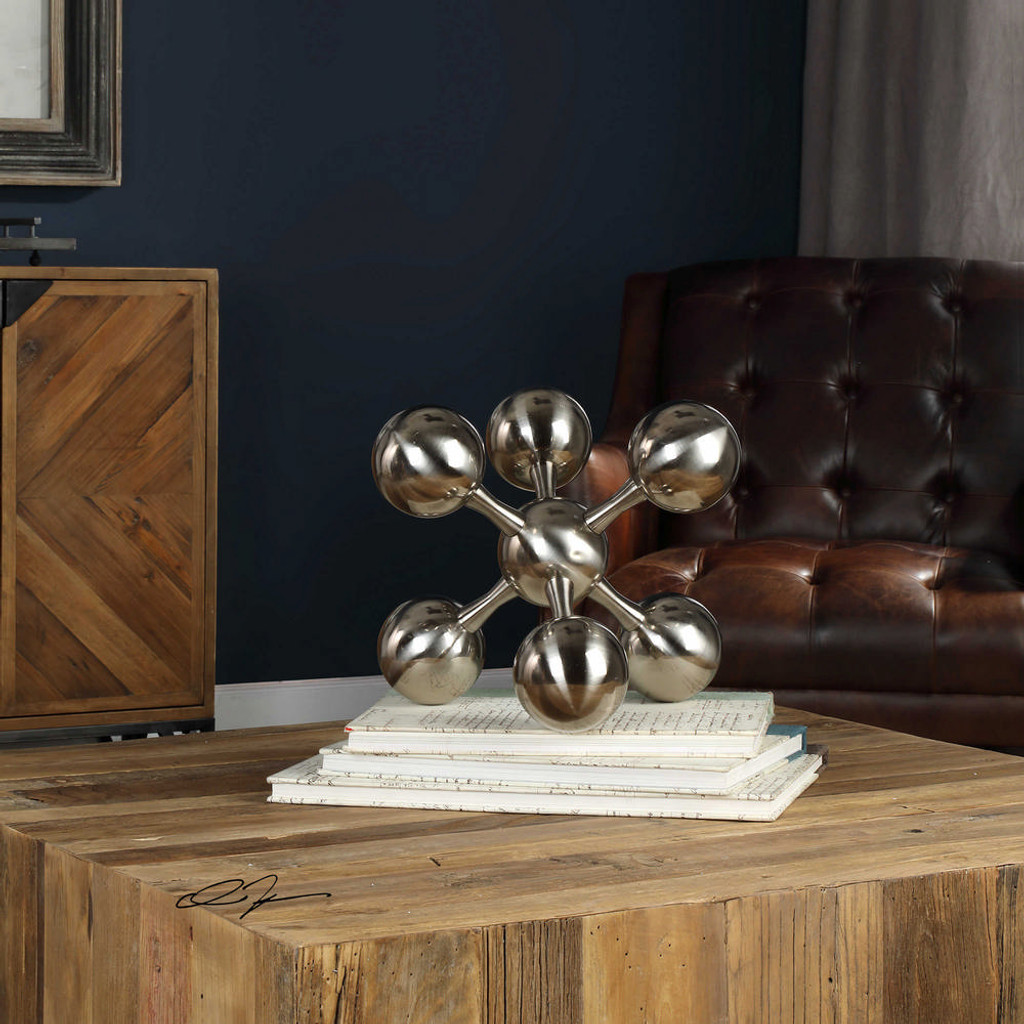 Jack Sculpture Silver by Uttermost