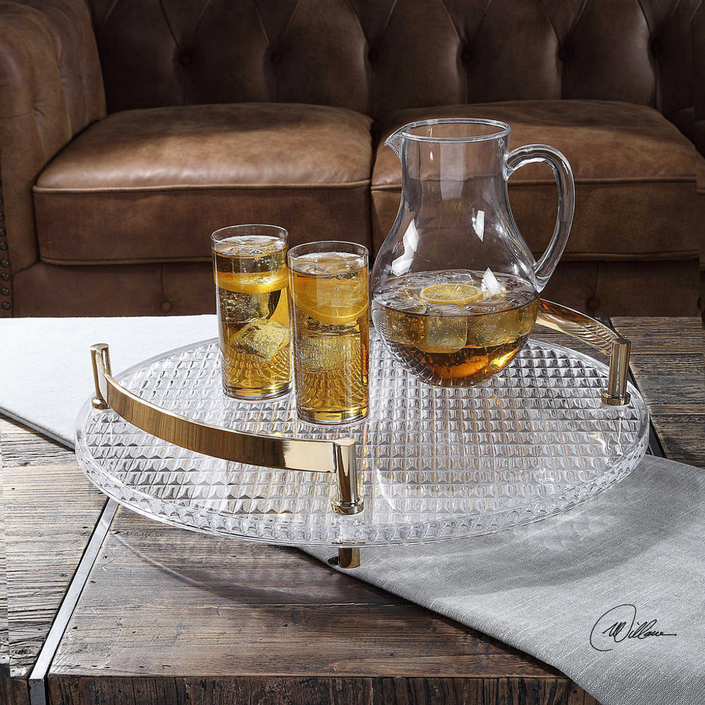 Kaiser Tray by Uttermost