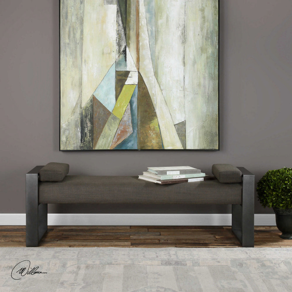 Kenway Accent Bench by Uttermost