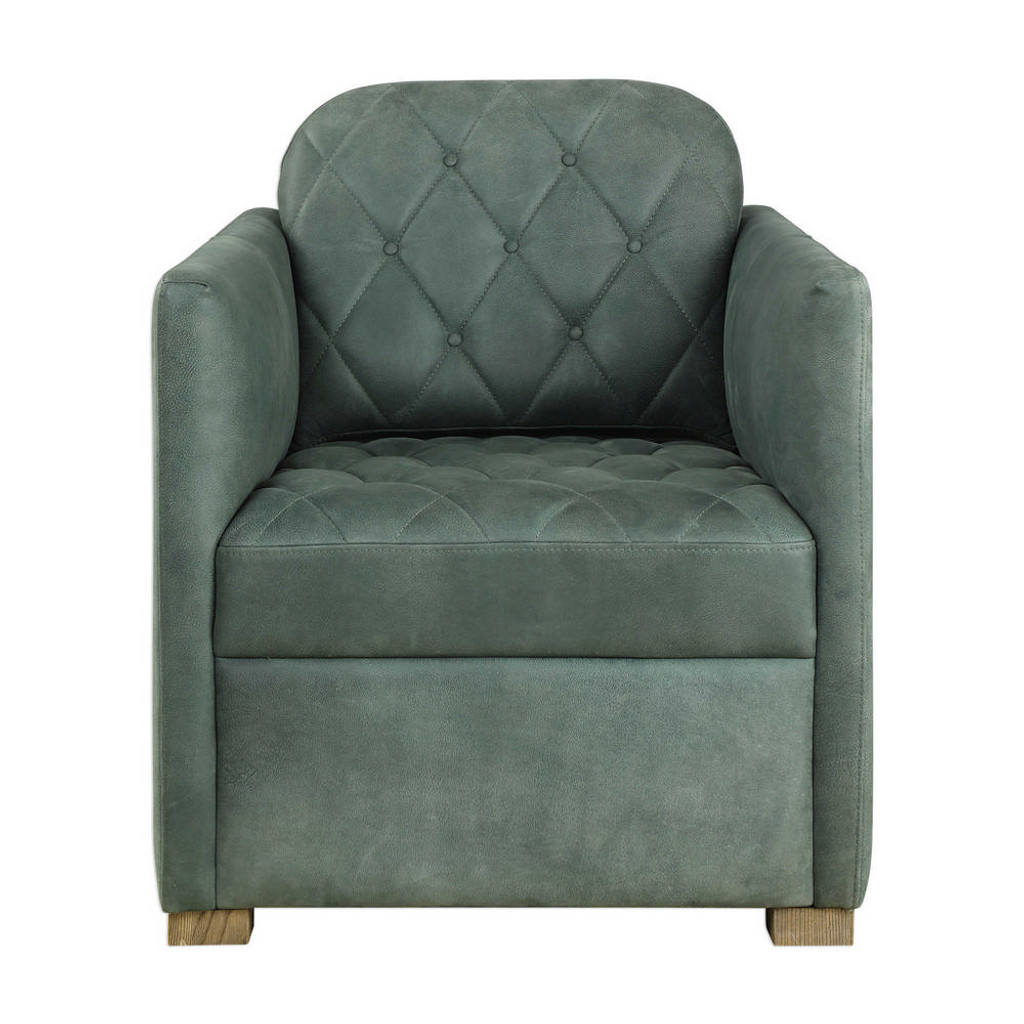Kennedy Leather Club Chair