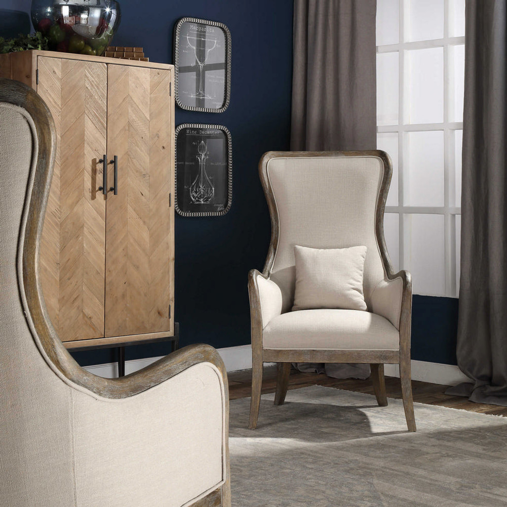 Chenin Accent Chair Stone