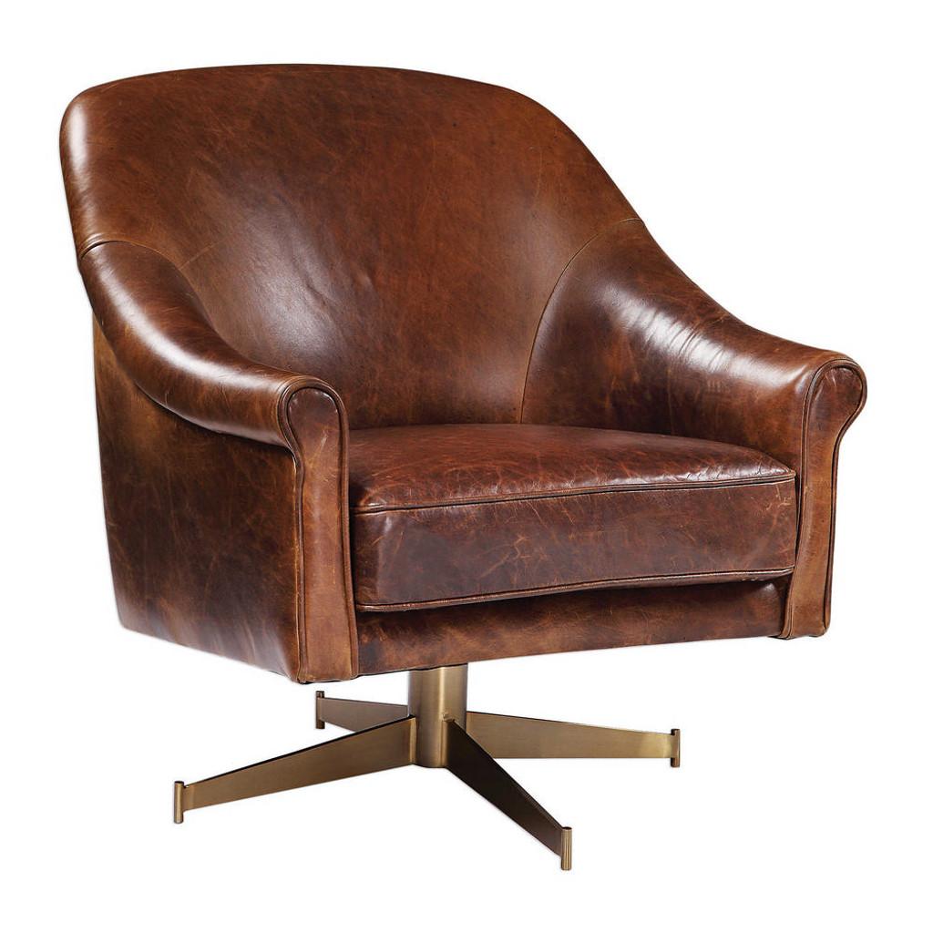 Ellington Swivel Chair by Uttermost
