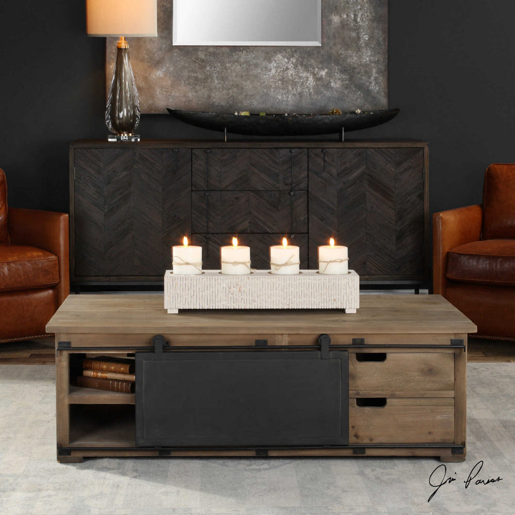 Leandrew Coffee Table by Uttermost