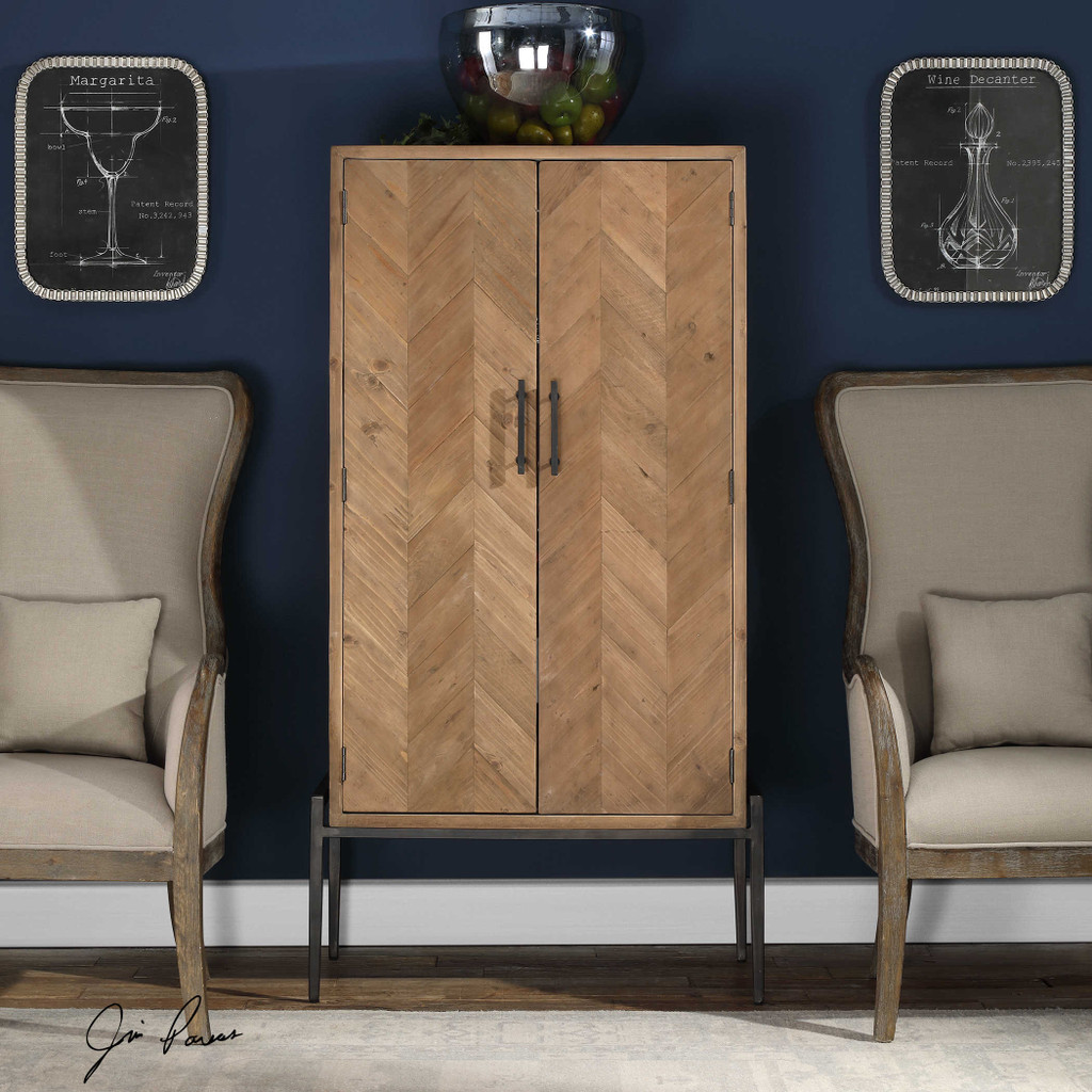Hannah Bar Cabinet by Uttermost