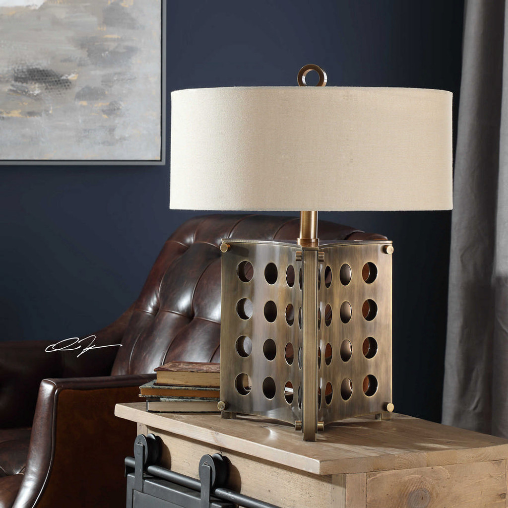 Lario Table Lamp by Uttermost