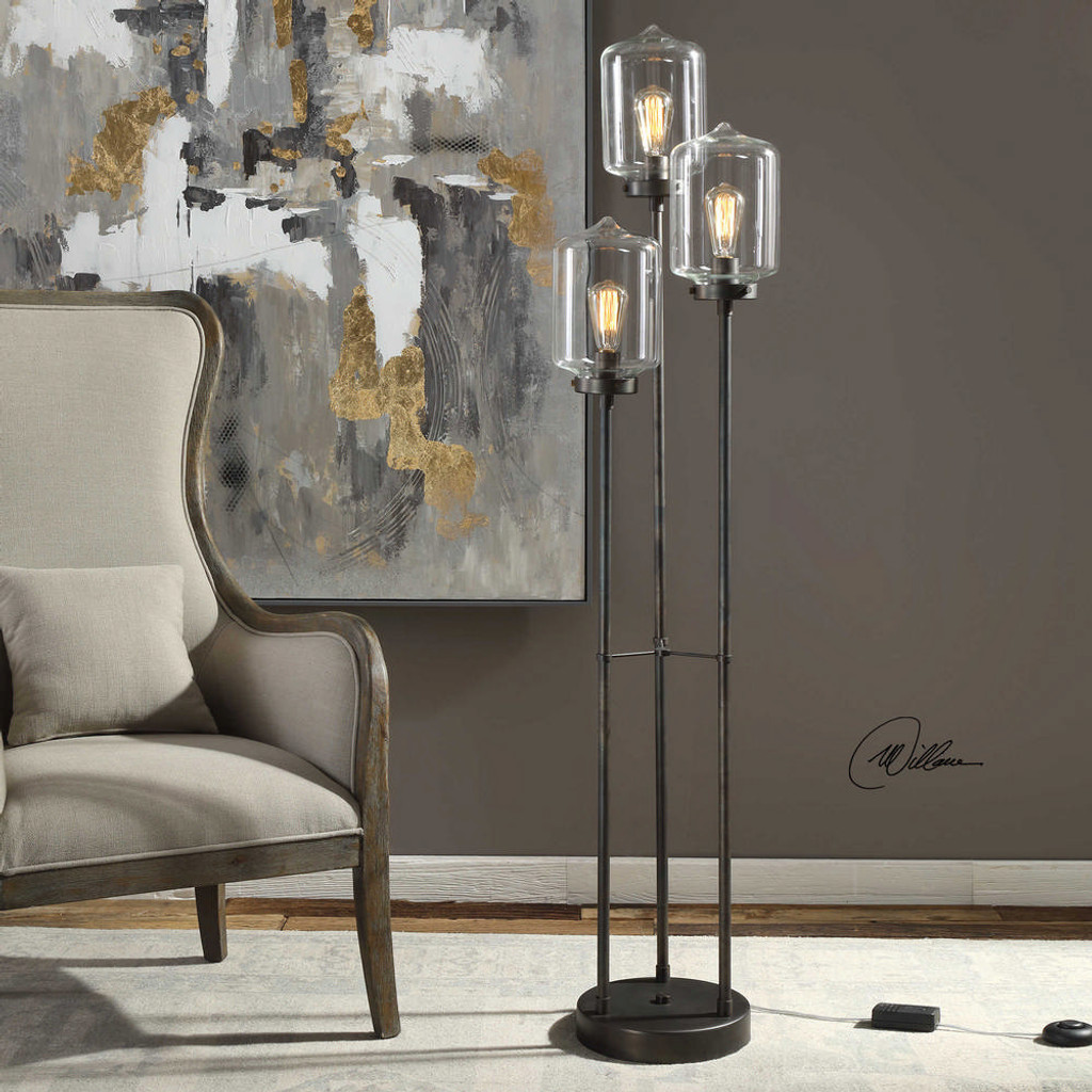 Collis Floor Lamp by Uttermost
