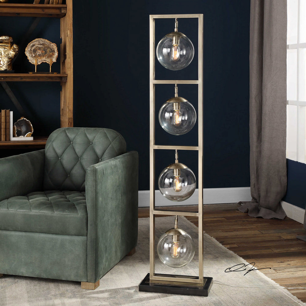 Akuto Floor Lamp by Uttermost