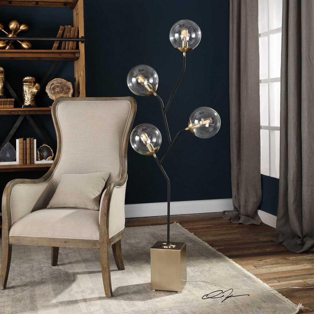 Drevo Floor Lamp by Uttermost
