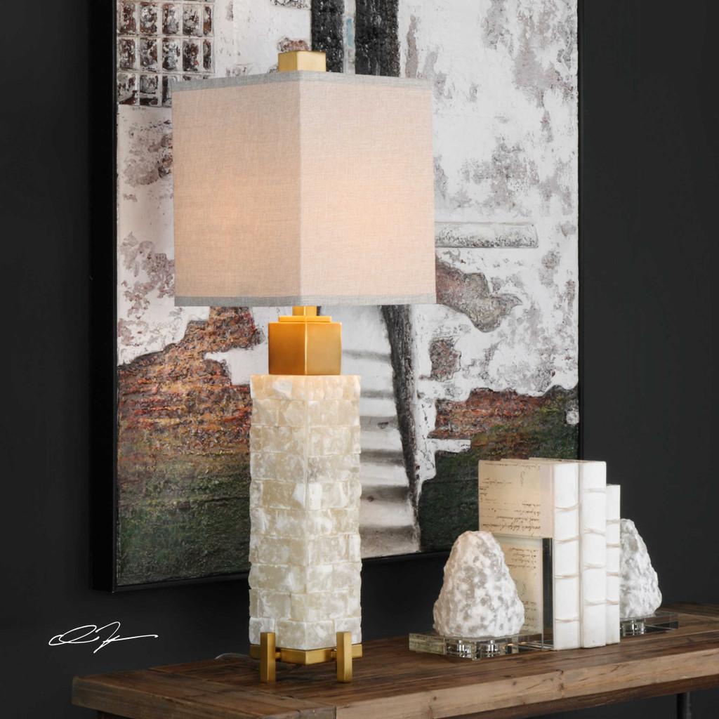 Malachi Buffet Lamp by Uttermost