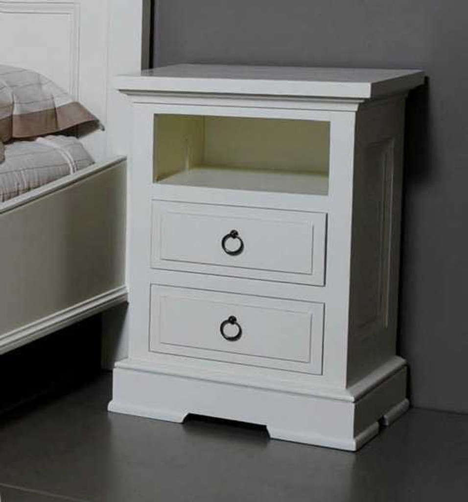 Bella House Florence Bedside Table 2 Drw
