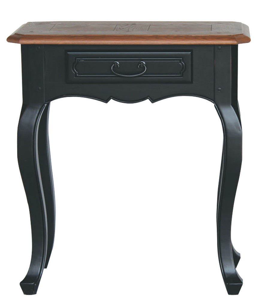 Bella House Chateau 1 Drawer Console Table - Black