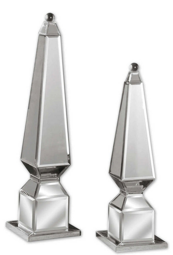 Alanna Finials S/2 by Uttermost