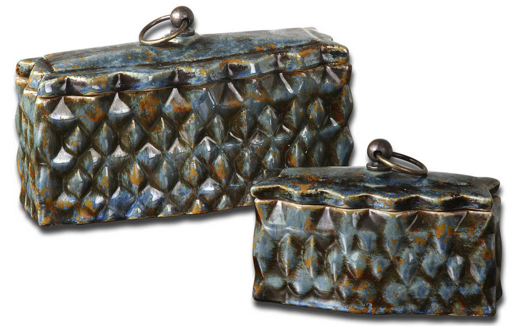 Neelab Boxes S/2 by Uttermost