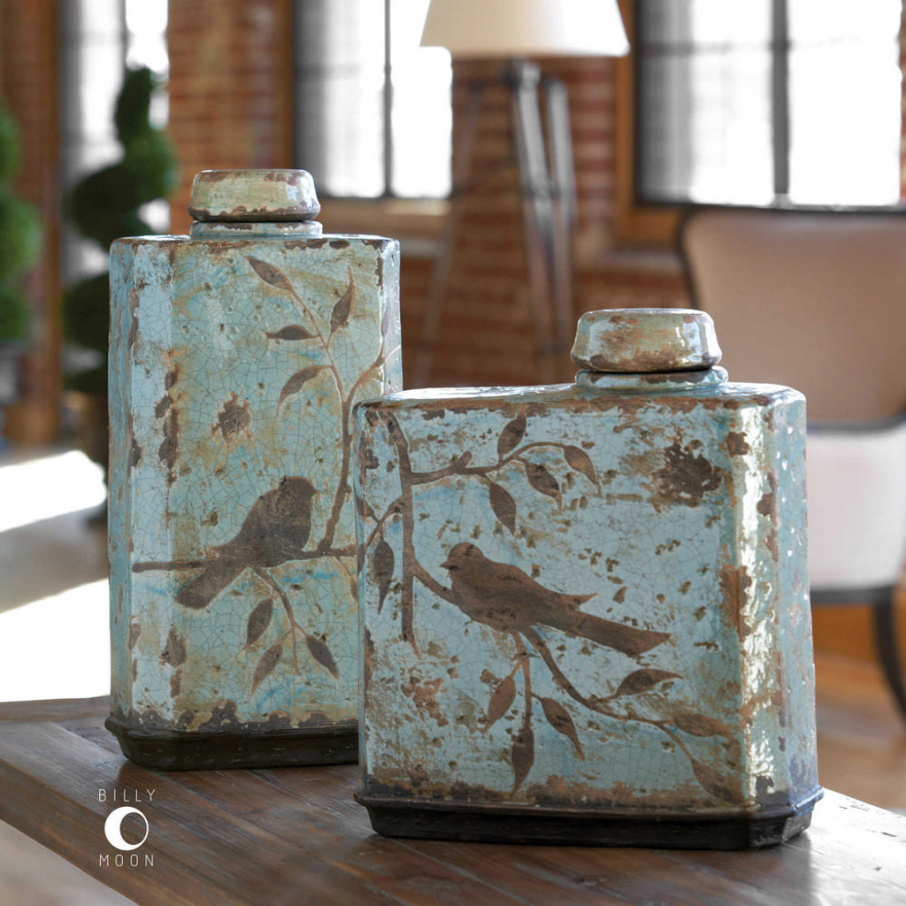 Freya Containers S/2 by Uttermost