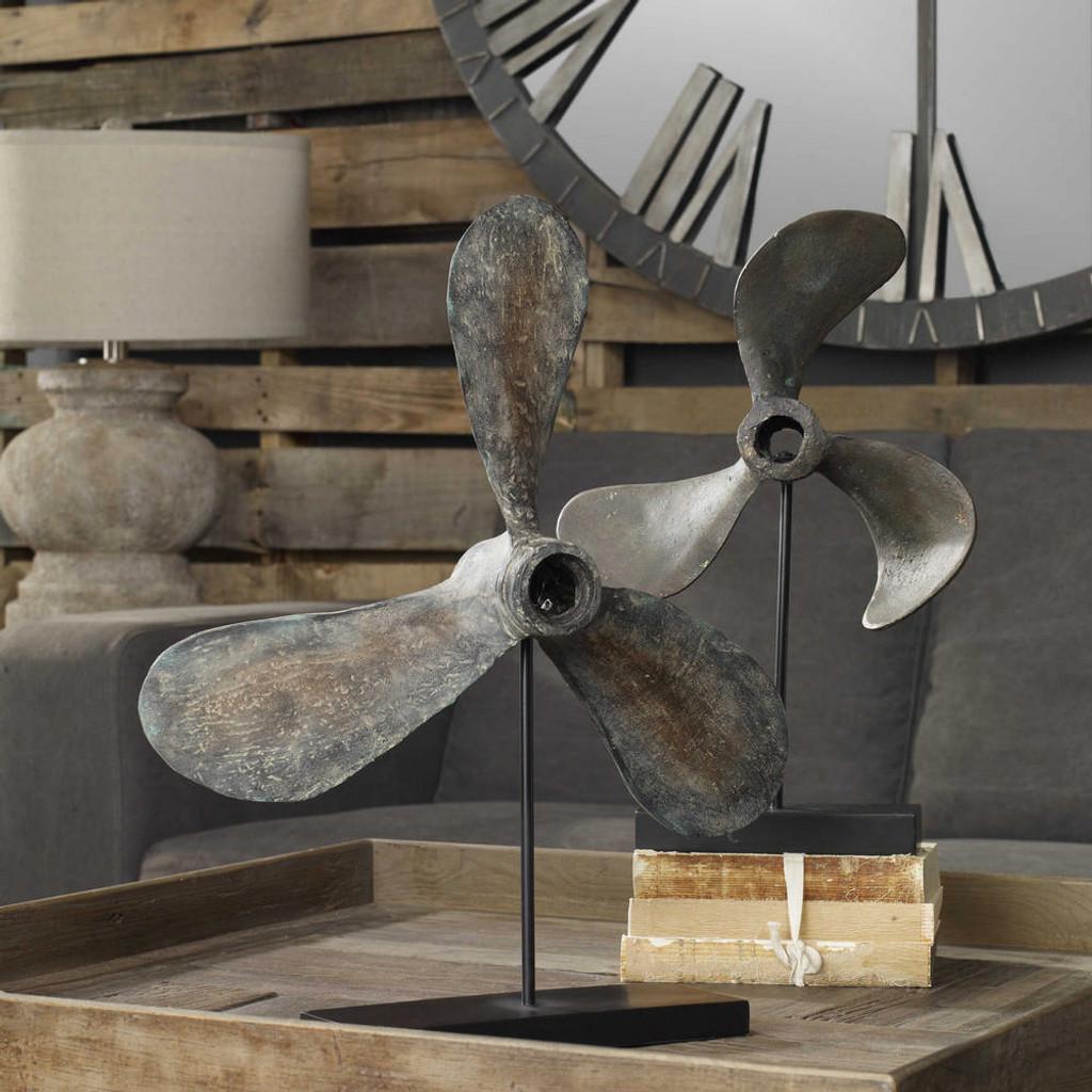 Propellers Sculpture S/2