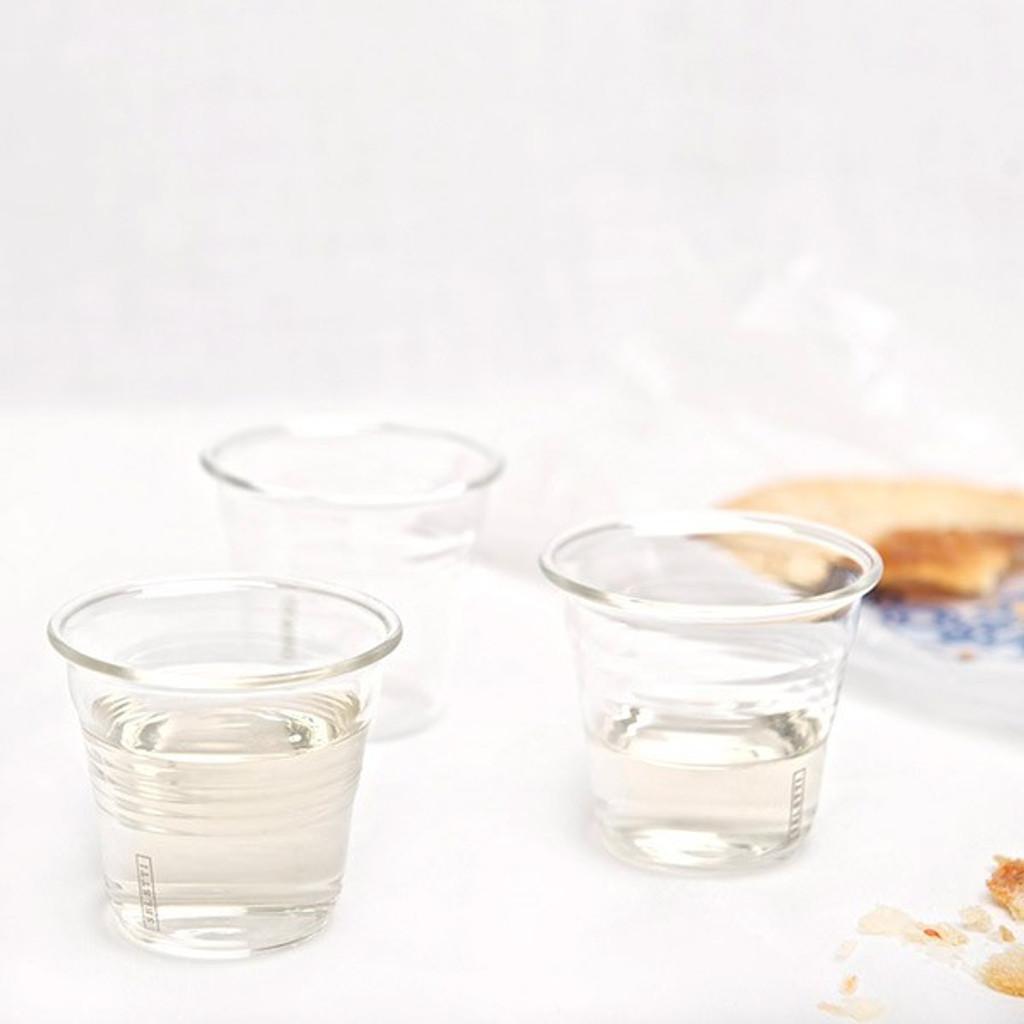 Glass Espresso Coffee Cup with Stirrer