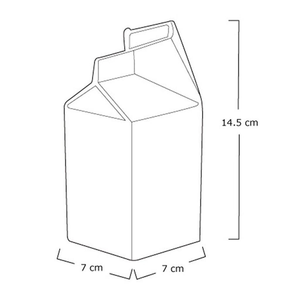 Porcelain Milk Jug - White