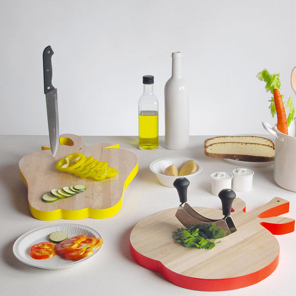 Birch Chopping Board - Tomato