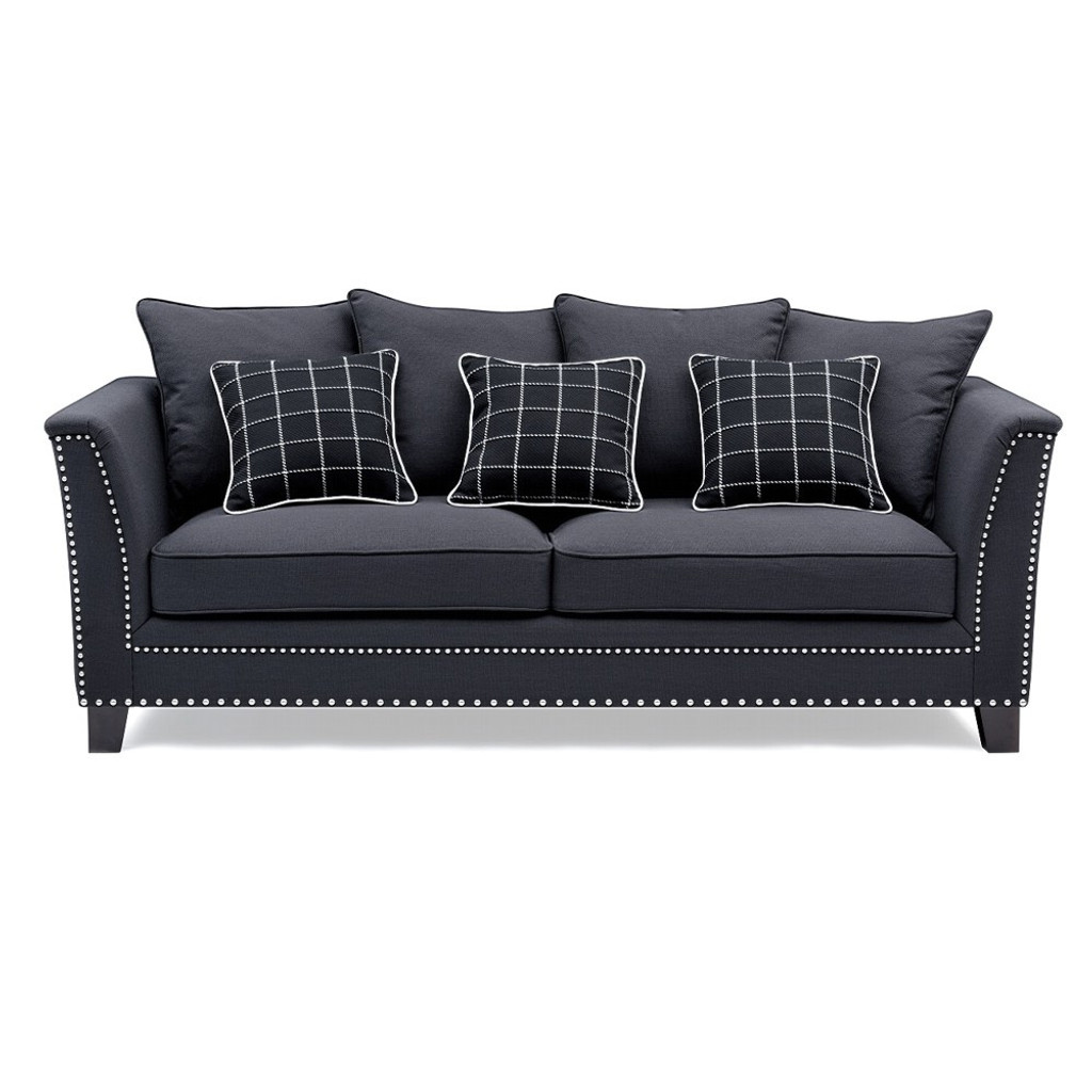Andre 3 Seat Sofa With Cushions Maison Living
