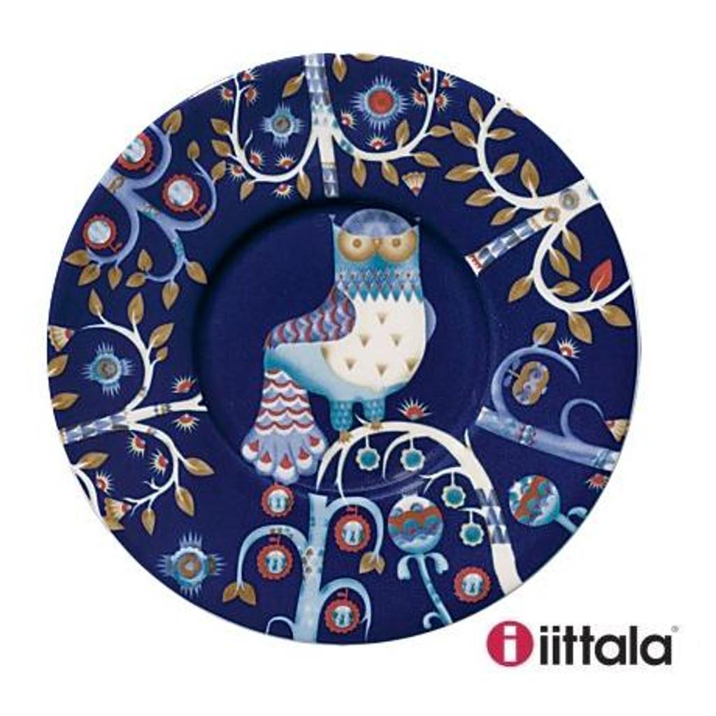 Iittala Taika Cappuccino Cup & Saucer Blue