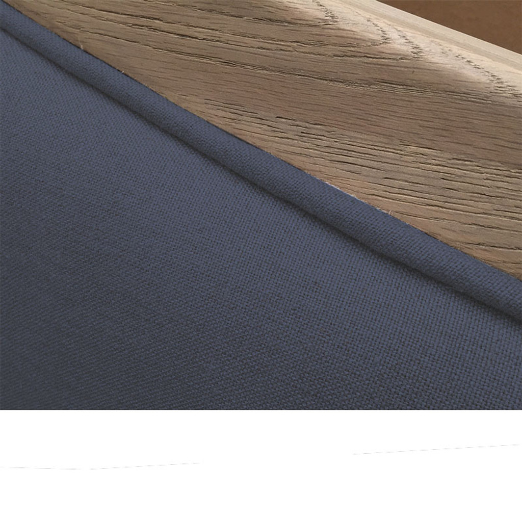 Antoinette Tufted King Headboard - Charcoal Linen