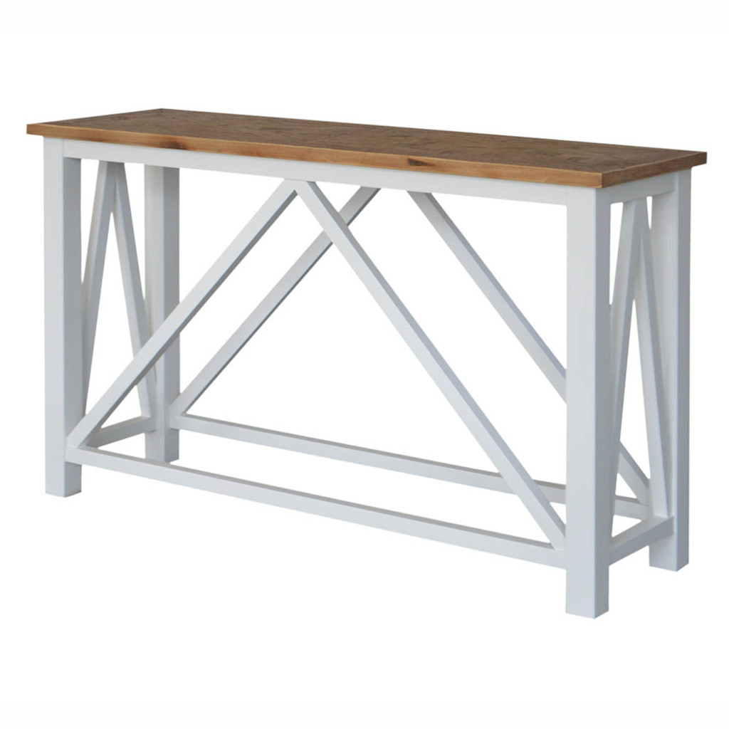 Portside Parquet Console Table