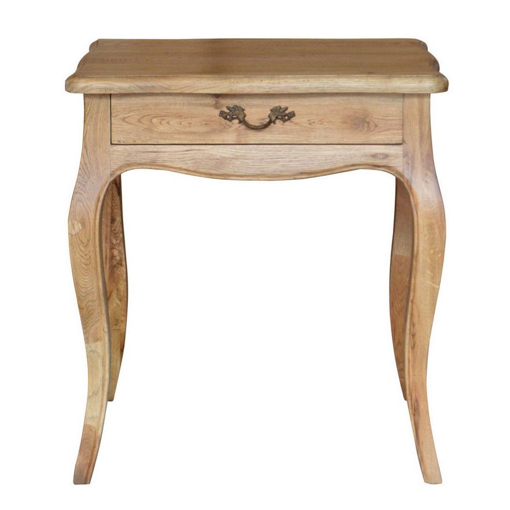 Josephine Bedside Table - Natural Oak