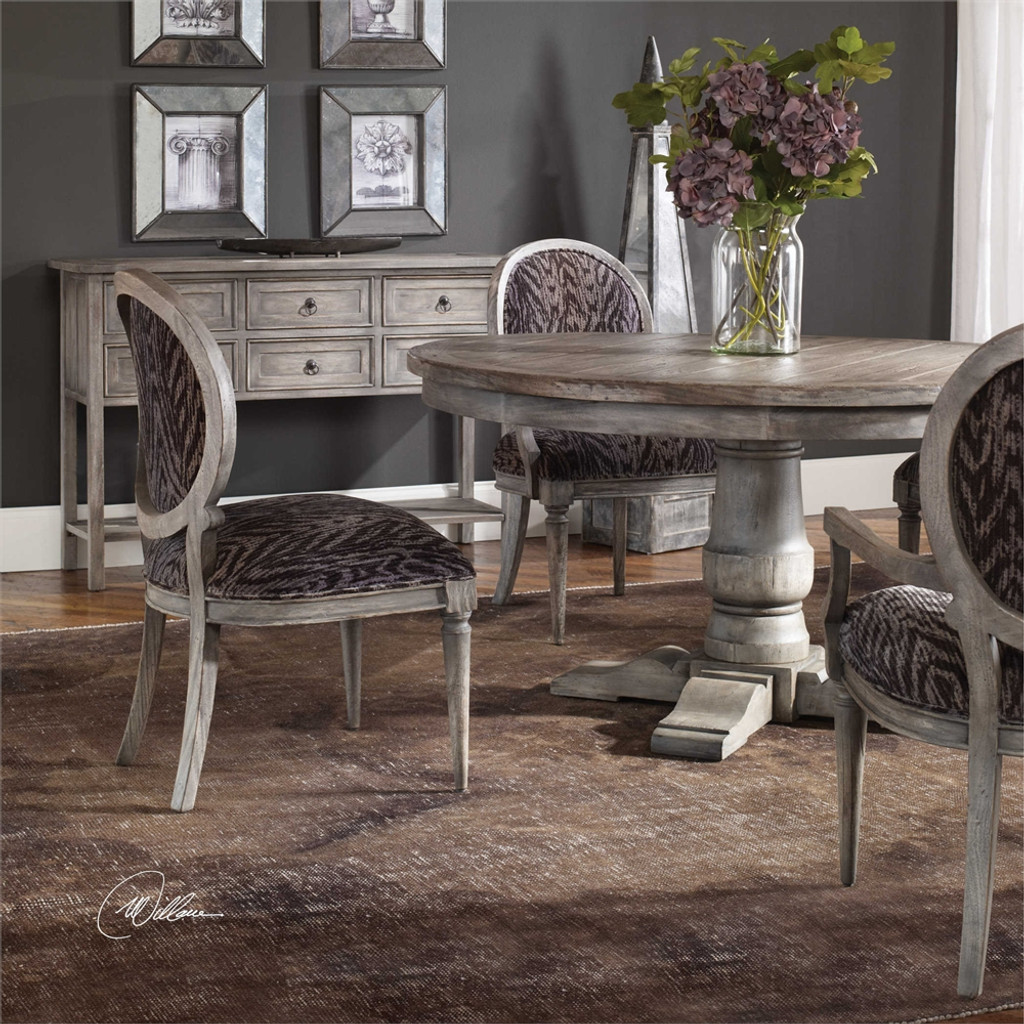 Kotra Armless Chair - by Uttermost