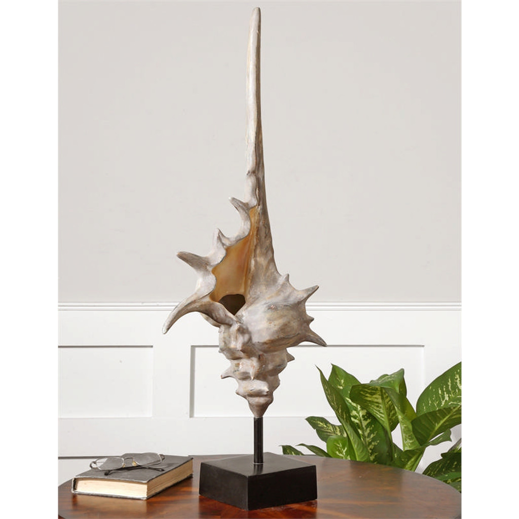Conch Shell Large by Uttermost