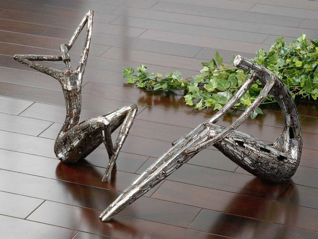 Dahy Statues S/2 by Uttermost