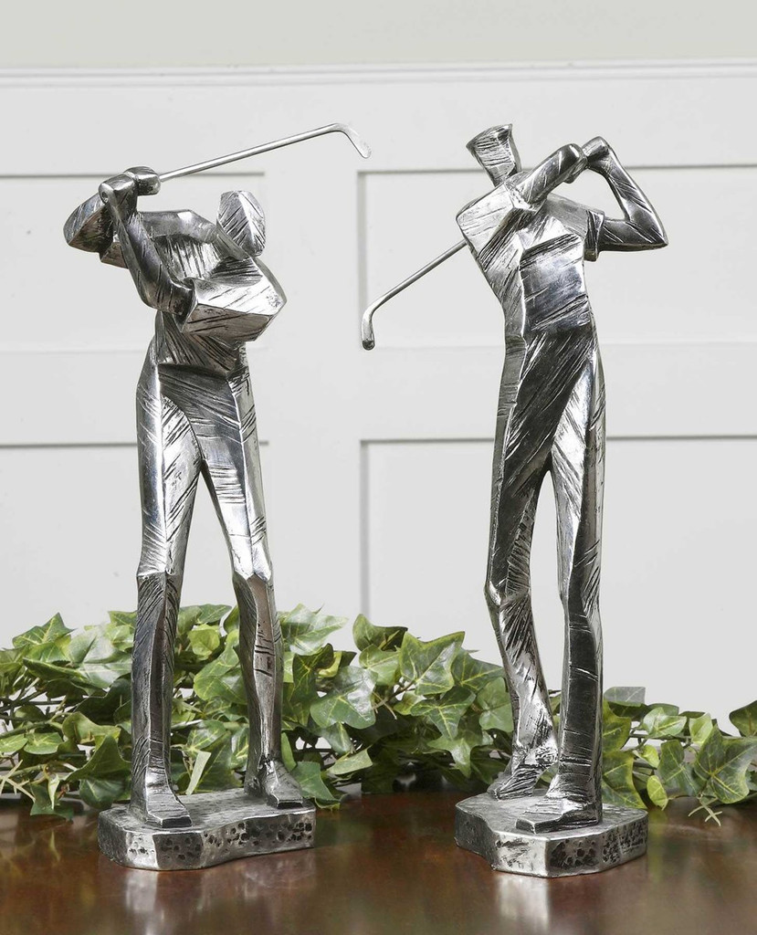 Practice Shot Figurines S/2 by Uttermost