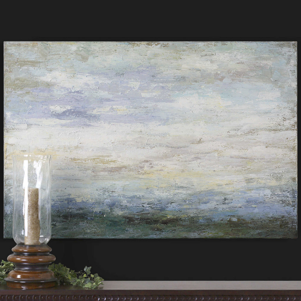 Free Fall Hand Painted Canvas by Uttermost