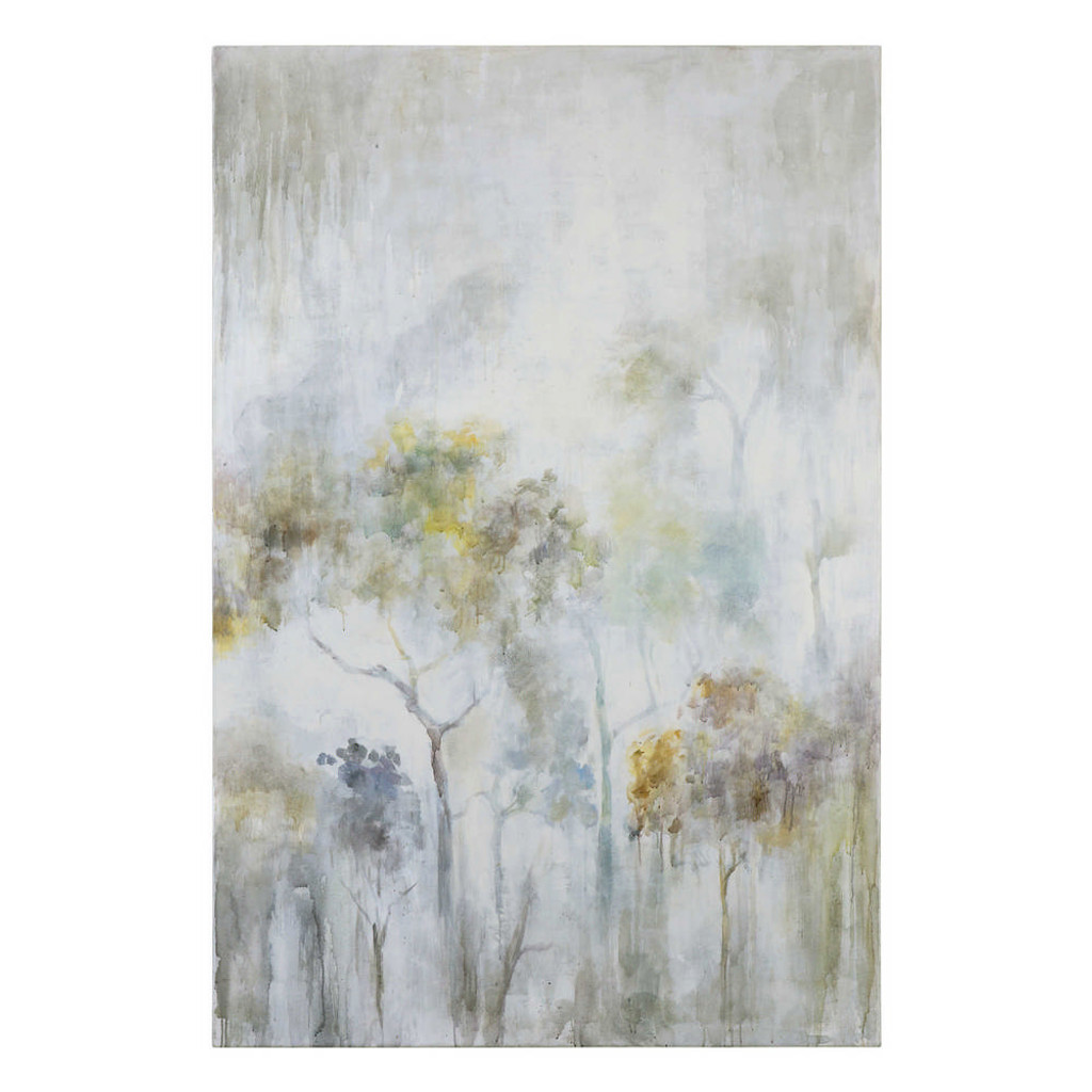 Sunshine Thru The Rain Hand Painted Canvas by Uttermost