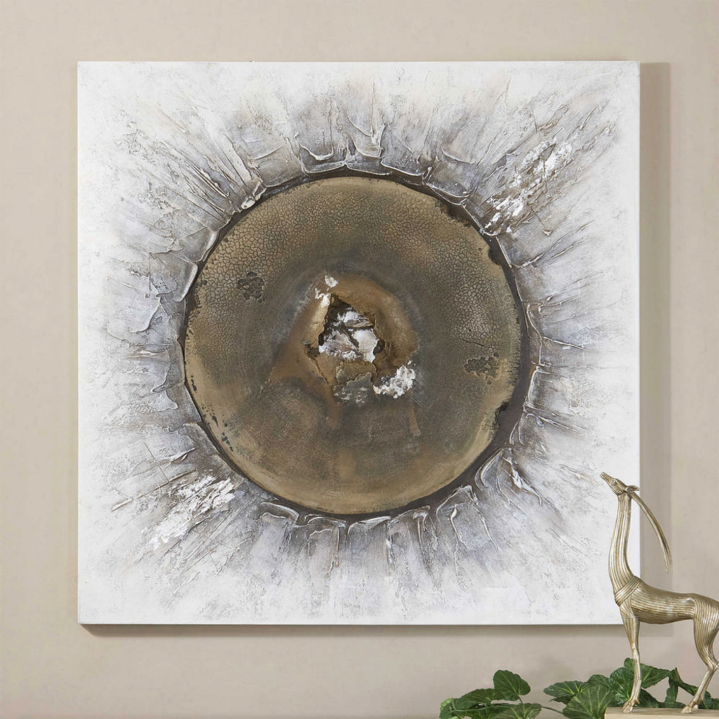 Bullet Hand Painted Canvas by Uttermost