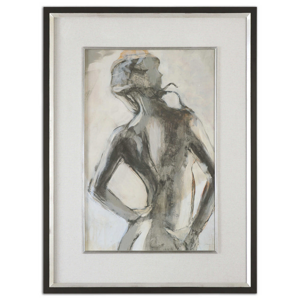 Gesture Framed Print by Uttermost