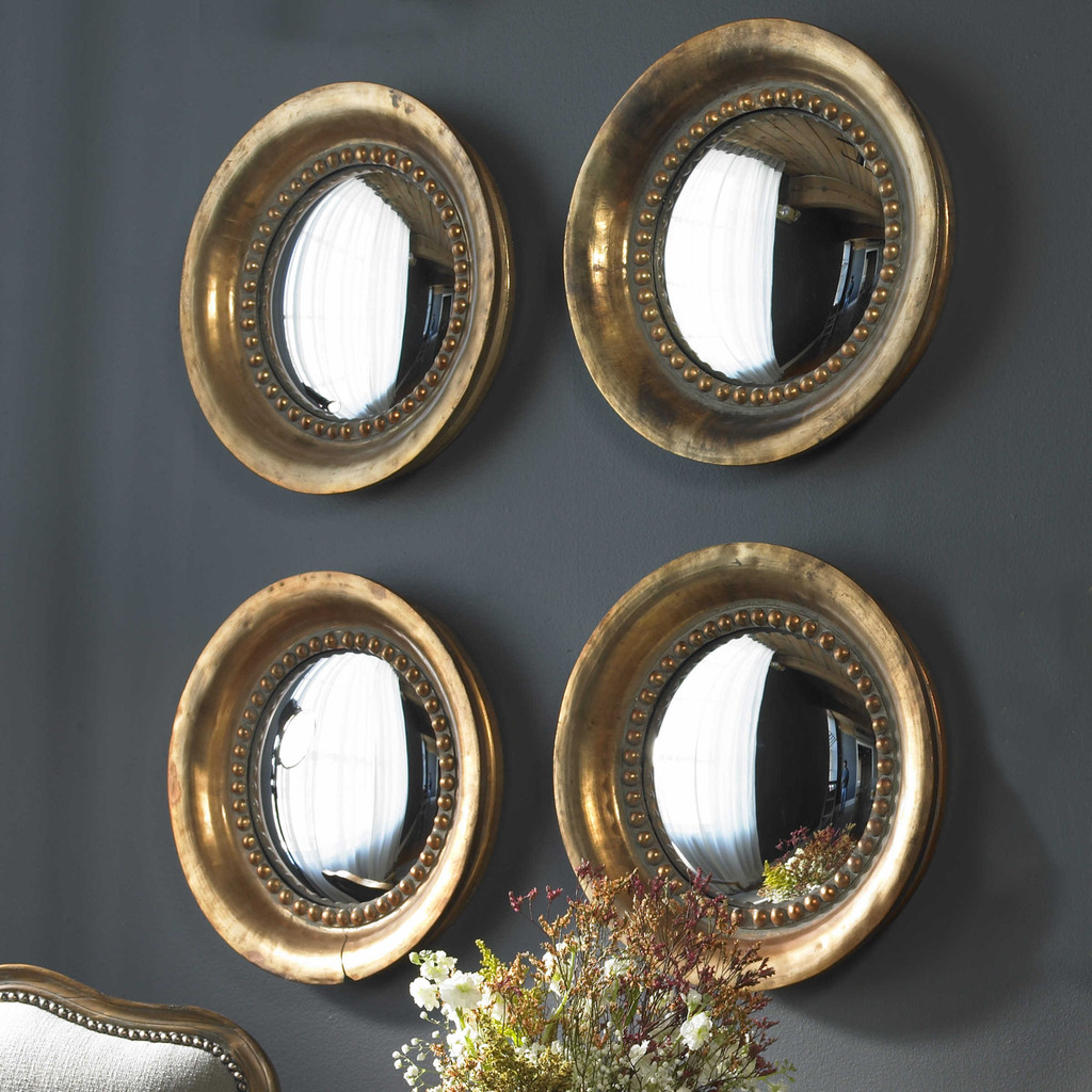 Tropea Round Mirrors S/2 by Uttermost