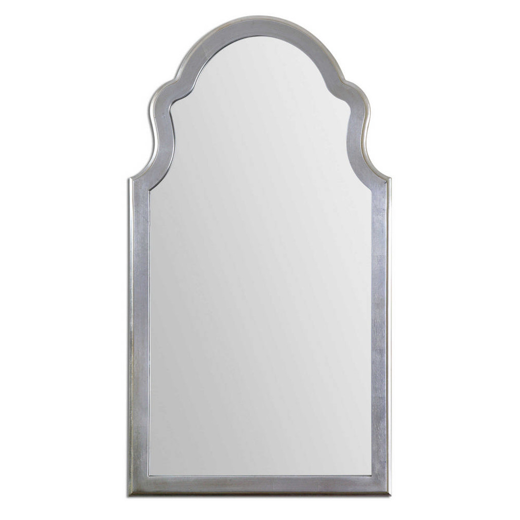 Brayden Silver Arch Mirror by Uttermost
