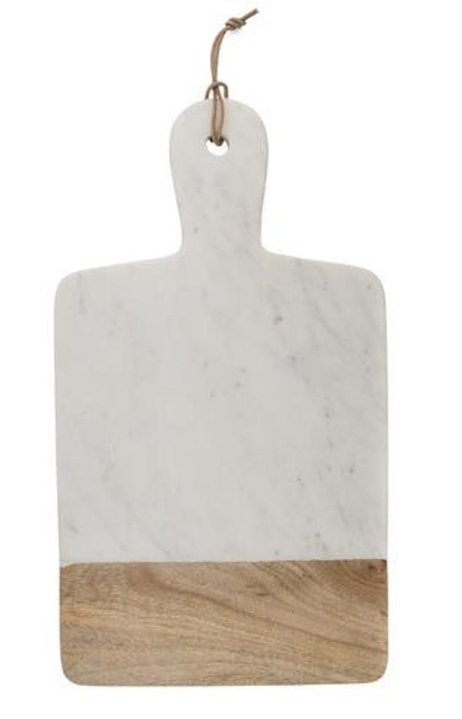 Marble and Mango Wood Rectangular Paddle Board