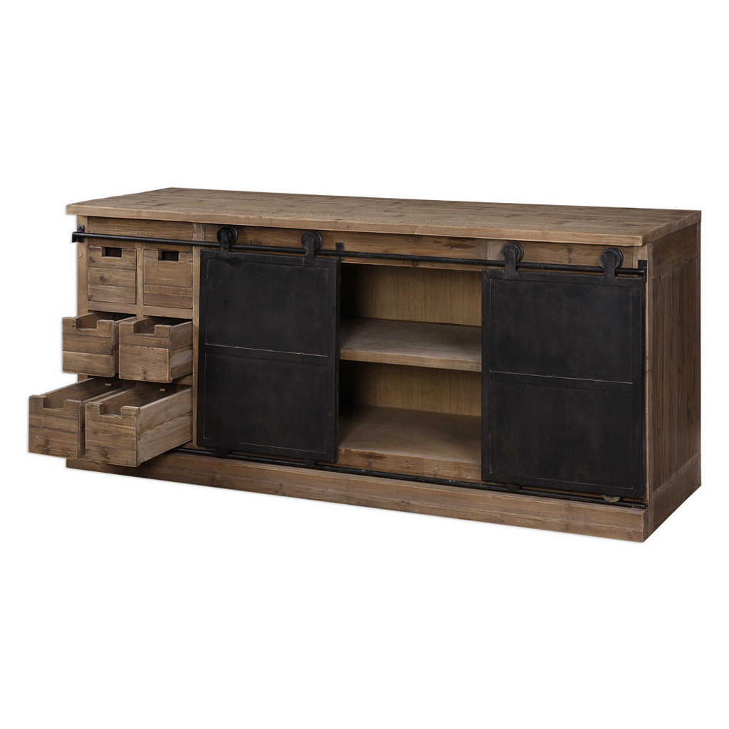 Leandrew Media Console by Uttermost