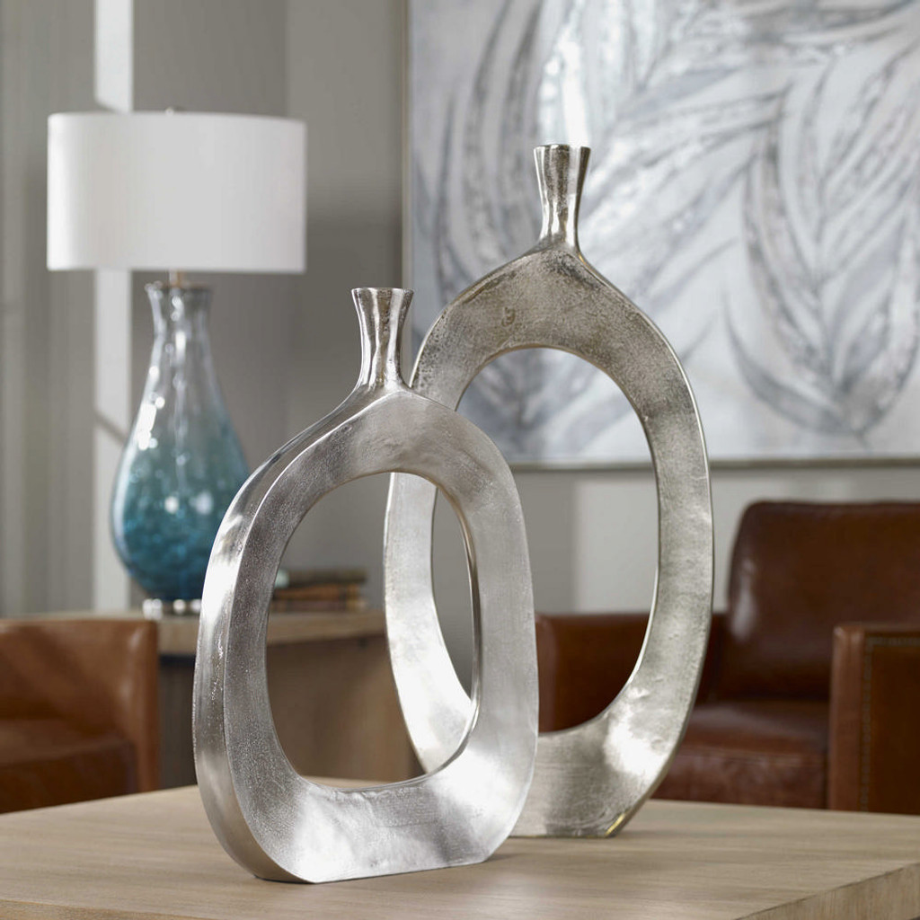 Cierra Vases S/2 by Uttermost