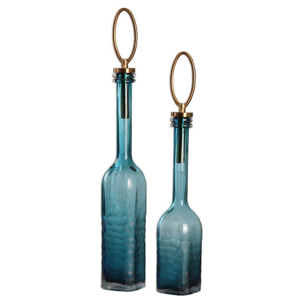 Carolina Bottles S/2 by Uttermost