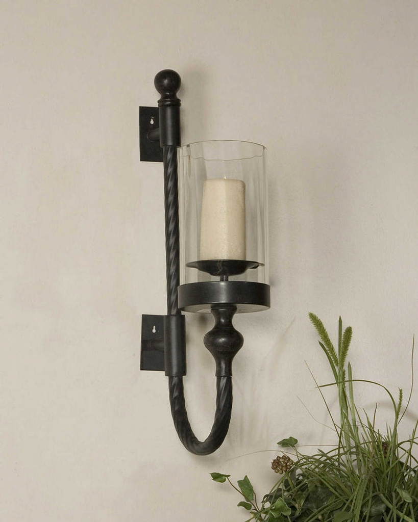 Garvin Candle Sconce by Uttermost
