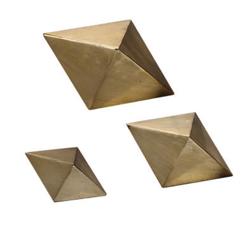 Rhombus Sculptures S/3