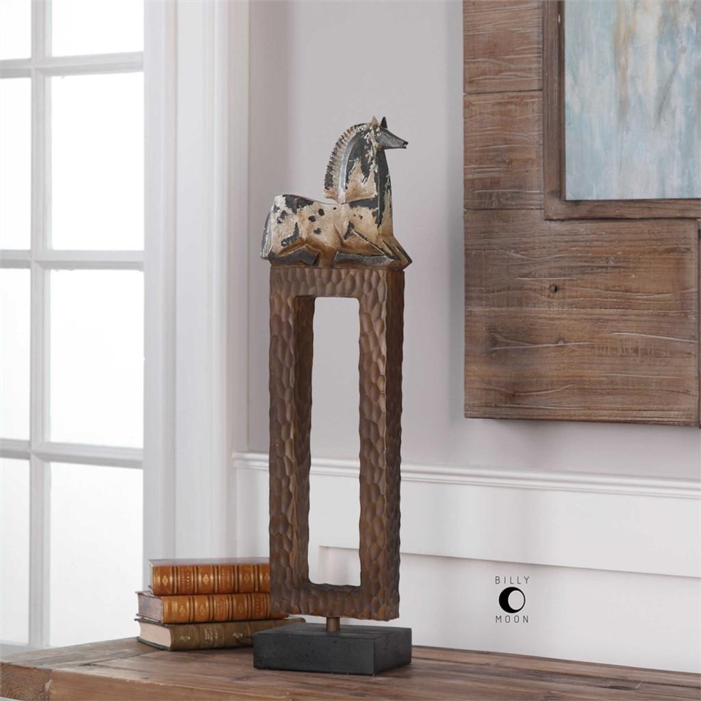 Addie Horse Figurine - by Uttermost